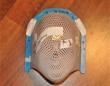 Example of a radiation mask