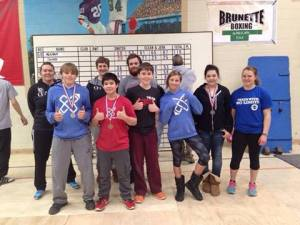 Rochester Barbell Club members at MN LWC